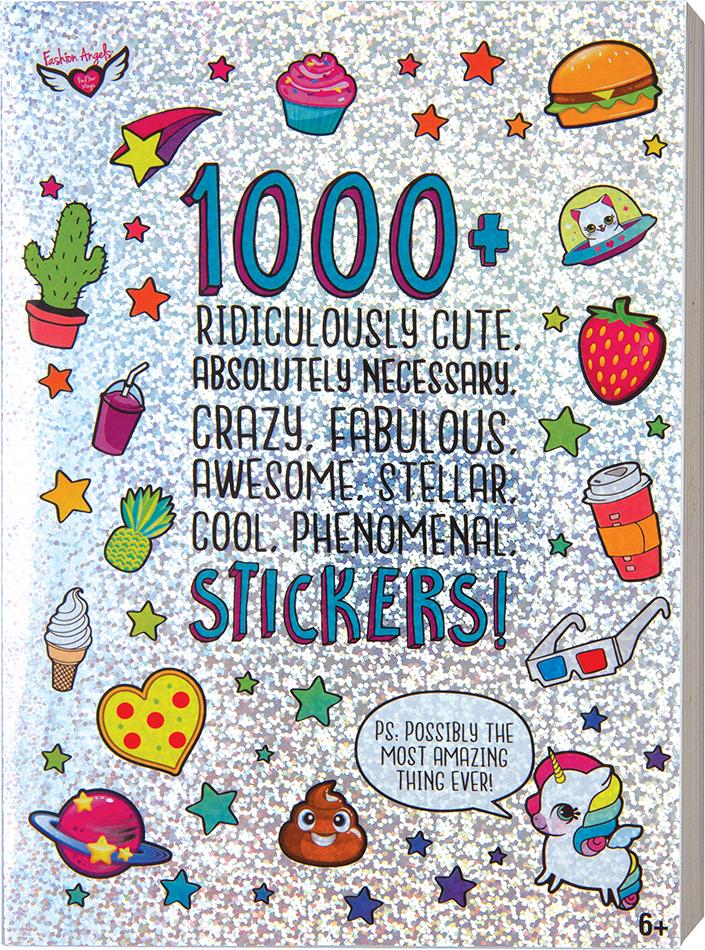 Cra-Z-Art Sticker Suprise Pack Over 1,000 Stickers