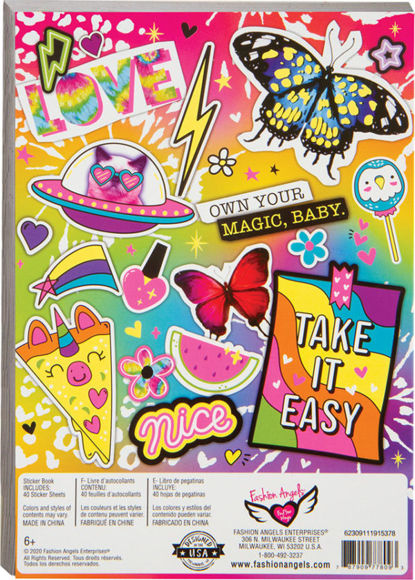 1000+ Neon Sticker Book: Series 3