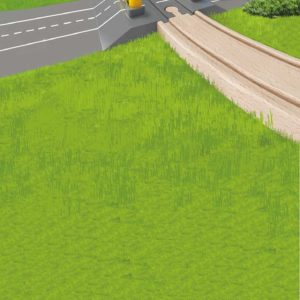 Automatic Gates Rail Crossing