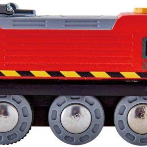 Crank-Powered Train