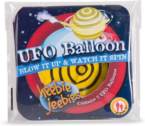 UFO Balloon in beaker