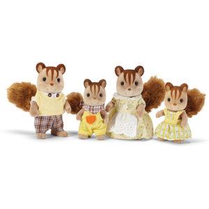 Hazelnut Chipmunk Family