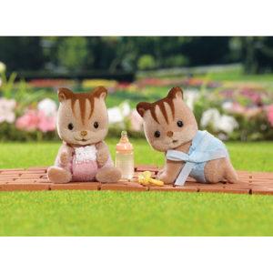 Hazelnut Chipmunk Twins