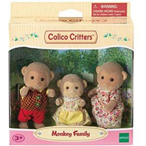 Calico Critters Mango Monkey Family Set