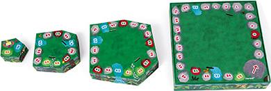 Racing Board Game - Jungle!