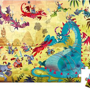 Puzzle ''Dragons'' - 54 Pcs