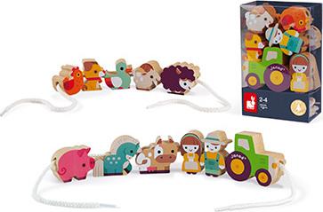 Stringable Farm-Themed Beads