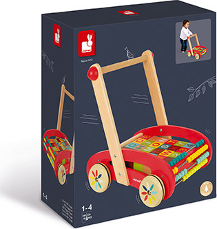 Tatoo Abc Buggy Cart - 30 Blocks