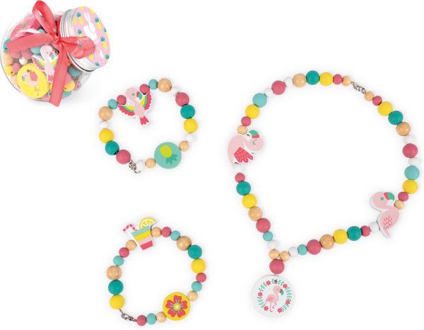 Birdy - Flamingos - 220 Beads