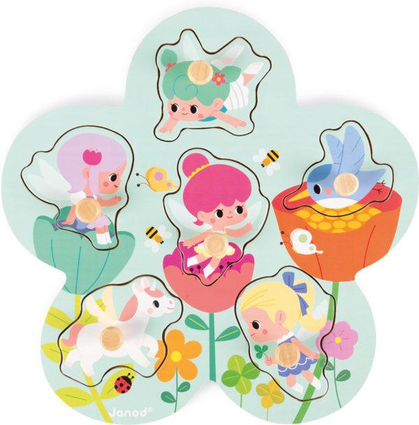 Happy Fairies Puzzle
