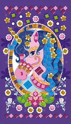 Foam Mosaics Ponies And Unicorns