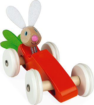 Janod Lapin - Carrot Car