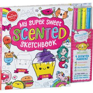 My Super Sweet Scented Sketchbook