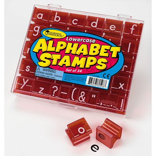 Lowercase Alphabet Stamps