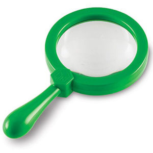 Primary Science Jumbo Magnifiers, Set of 12 in Display (without stand)