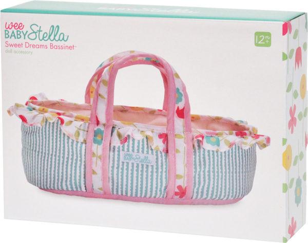 Wee Baby Stella Sweet Dreams Bassinet