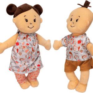 Wee Baby Stella Twins Peach