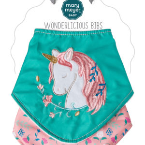Twilight Baby Unicorn Wonderlicious Bib Set