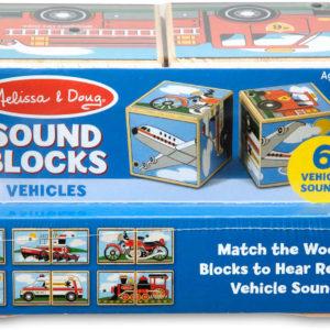 Vehicles Sound Blocks