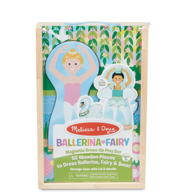 Ballerina/ Fairy Magnetic Dress-Up Play Set
