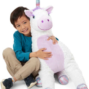 Jumbo Misty Unicorn Stuffed Plush Animal