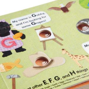 Poke-a-Dot - An Alphabet Eye Spy Board Book