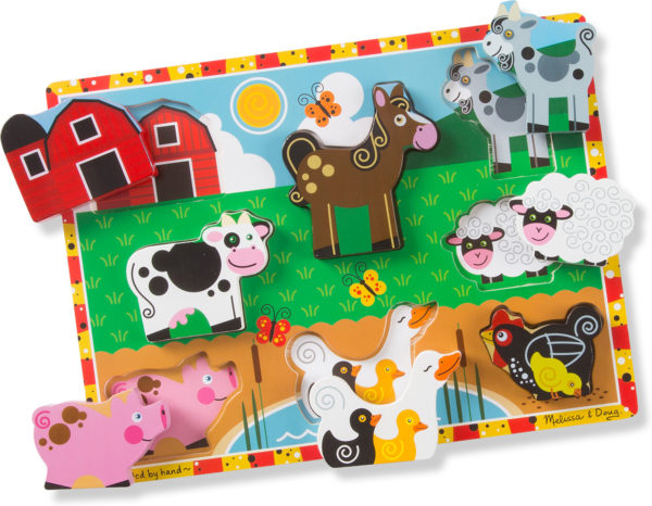 Farm Chunky Puzzle - 8 Pieces