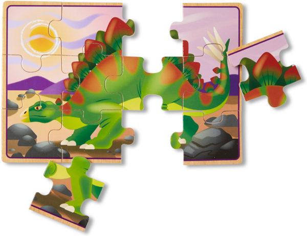 Dinosaur Jigsaw Puzzles in a Box
