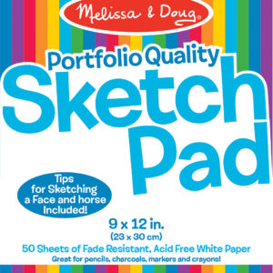Quality Spiral-Bound Sketch Pad