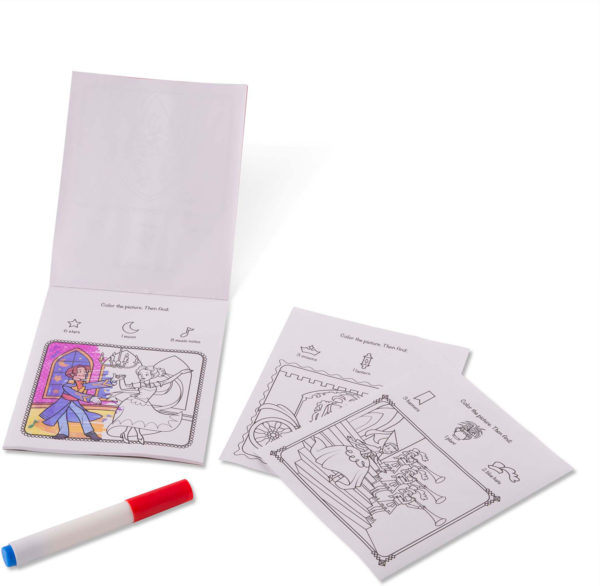 On the Go ColorBlast No-Mess Coloring Pad - Princess