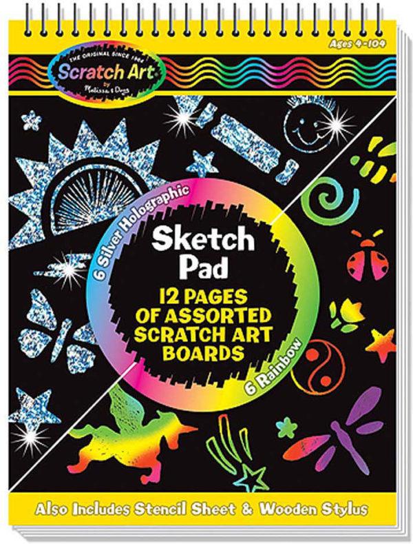 Scratch Art Sketch Pad Book