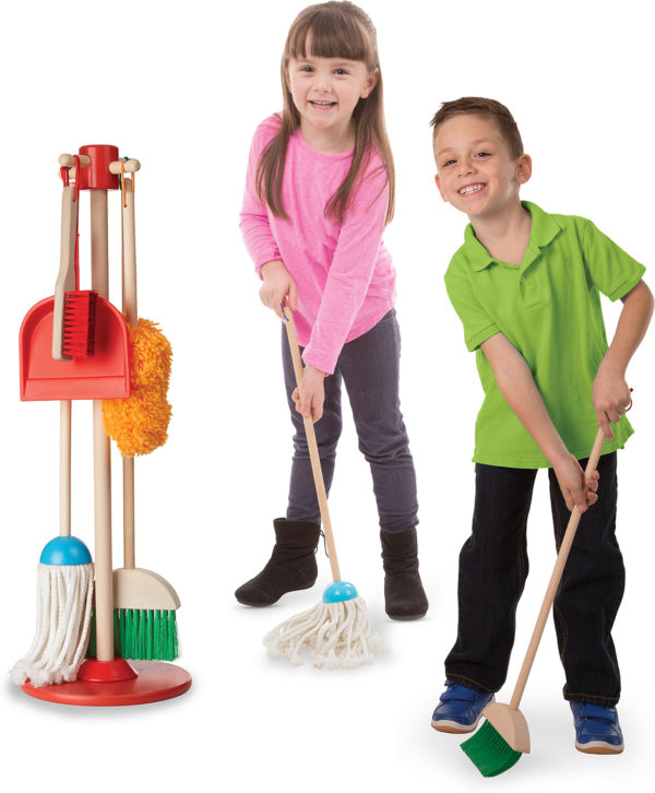 Let's Play House! Dust! Sweep! Mop!
