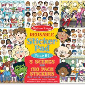Reusable Sticker Pad - Face It!