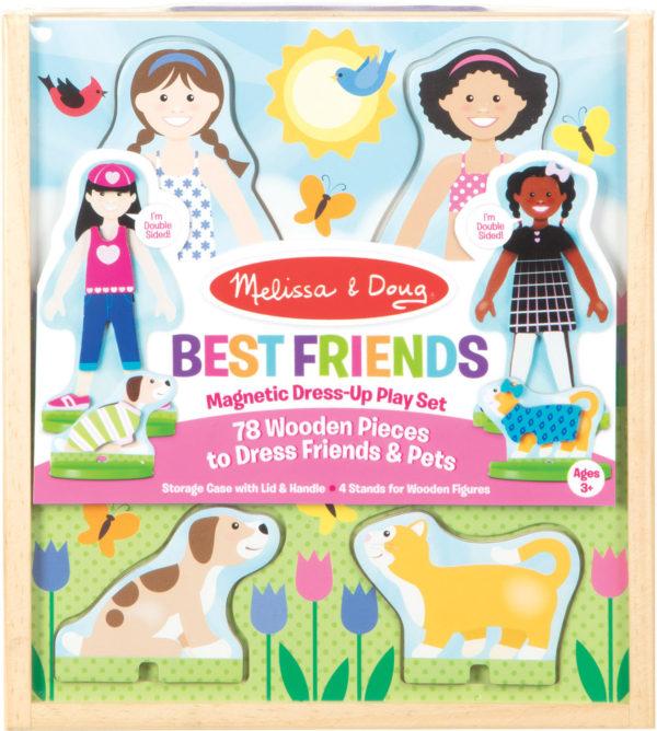 Best Friends Magnetic Dress-Up Play Set