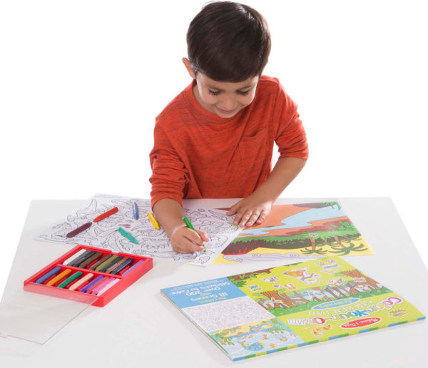 Color-Your-Own Sticker Pad - Animals