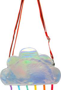 Rainbow magic shoulder bag-silver