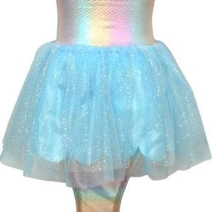Iridescent sequin mermaid dress size 5/6
