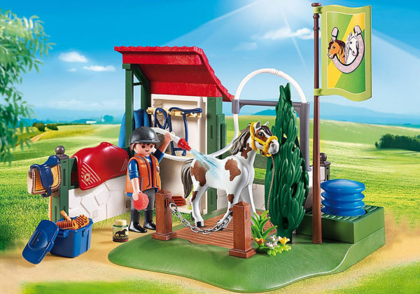 Horse Grooming Station