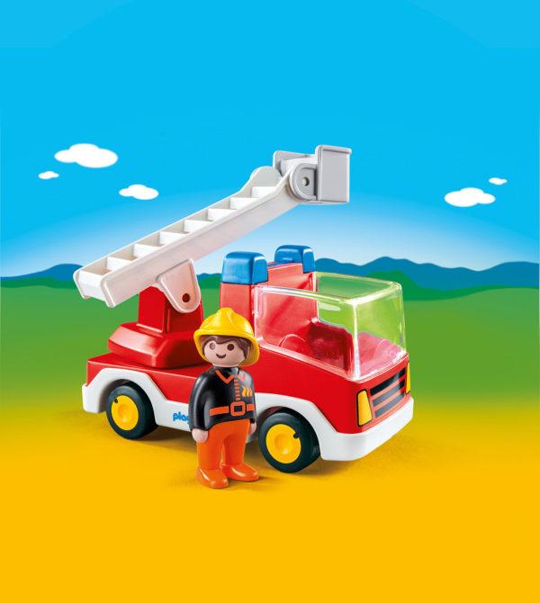 Ladder Unit Fire Truck