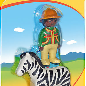 Ranger with Zebra