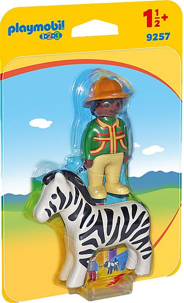 Ranger with Zebra