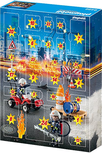 Advent Calendar - Construction Site Fire Rescue