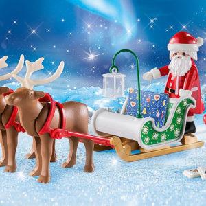 Santa's Sleigh with Reindeer