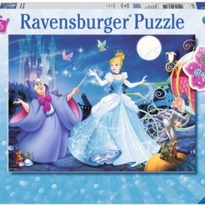 Adorable Cinderella (100 pc Glitter Puzzle)