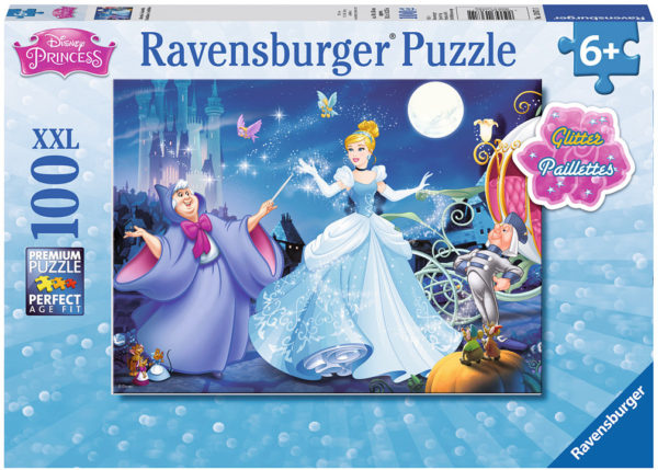 Adorable Cinderella (100 pc Glitter Puzzle)