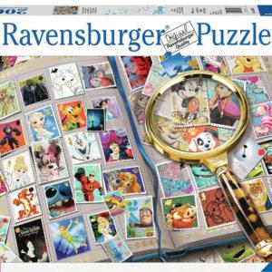 Disney Stamp Album (2000 pc Puzzle)