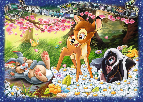 Disney Bambi (1000 pc Puzzle)