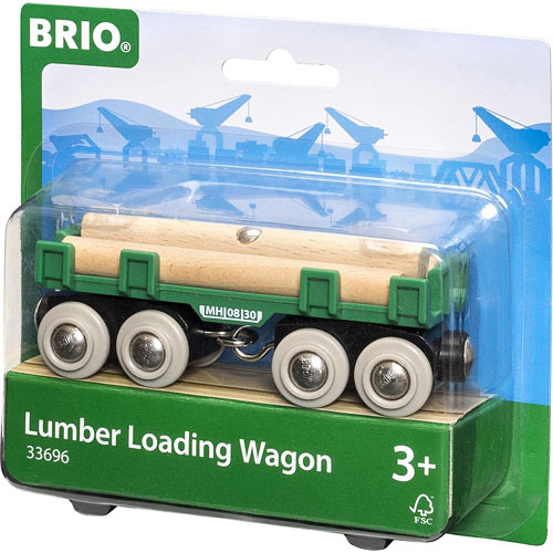 Lumber Loading Wagon
