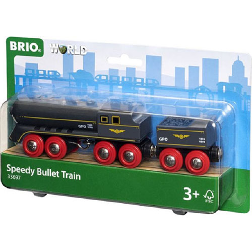 Speedy Bullet Train