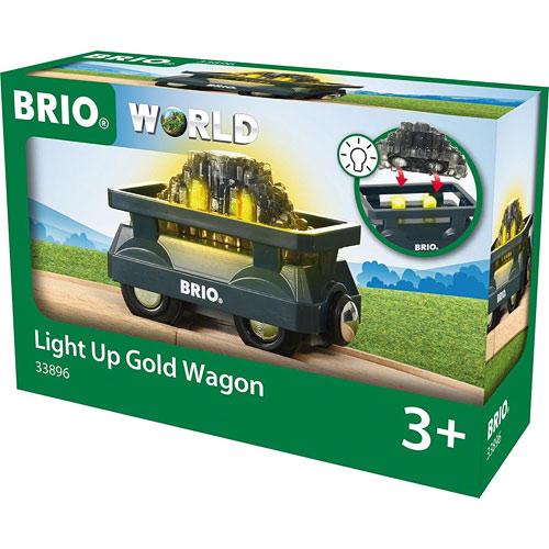 Light Up Gold Wagon